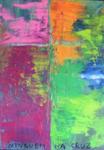 "Marcio Tadeu - ""Ninguém na cruz"". óleo sobre tela."