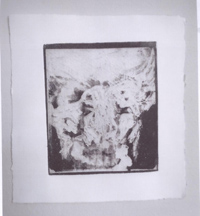 Thiago Fernandes - Impressão Radiográfica II_ gravura em metal_ 17x18cm; 2011