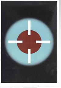Vitor Nascimento - Astro (série de 12 desenhos)_ Desenho digital em blacklights_ 1,01mX1,07m 2012