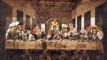 Santa Ceia - Colagem digitalizada - 1999